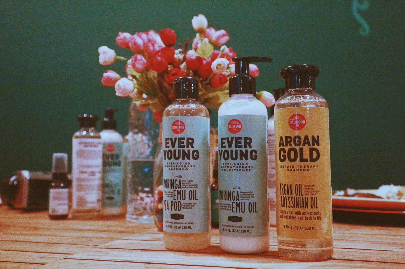 HairFood Co. products