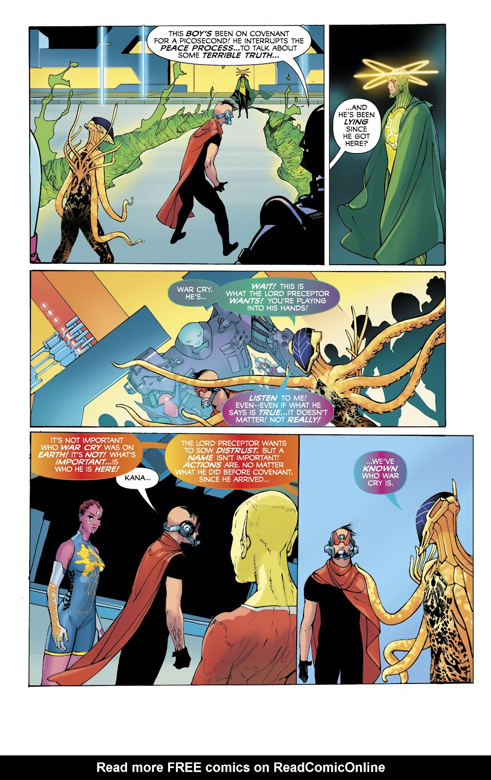 Read online Electric Warriors comic -  Issue #5 - 15