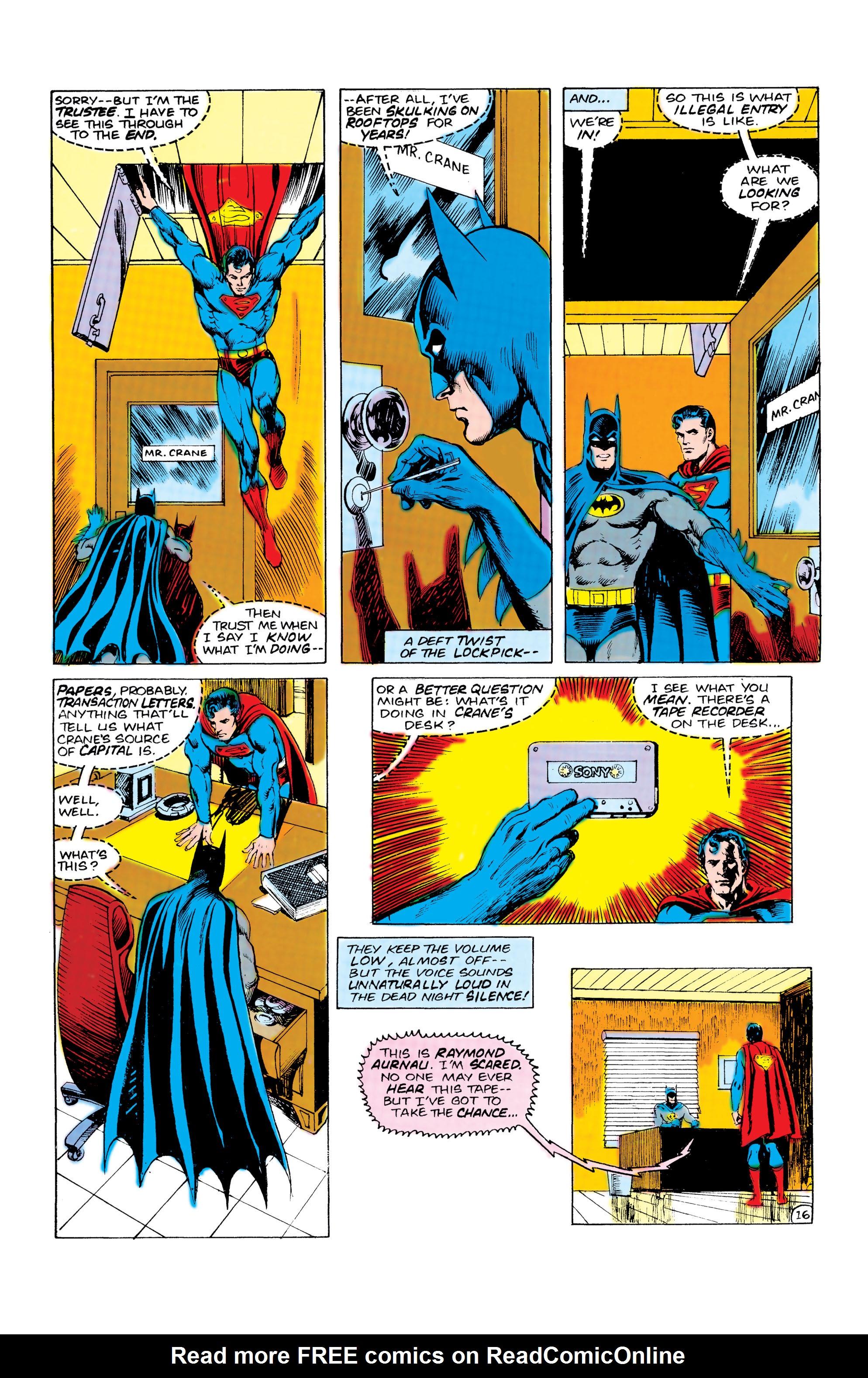 Read online World's Finest Comics comic -  Issue #309 - 17