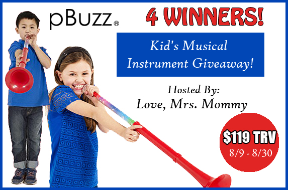 musical instrument giveaway pbuzz kid s musical instrument giveaway 4 winners mom 7843