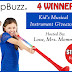 pBuzz Kid's Musical Instrument Giveaway {4 Winners}