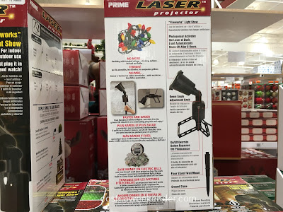 Costco 1114665 - Prime Laser Projector (model LFLRGM505) - great for decorating and Christmas