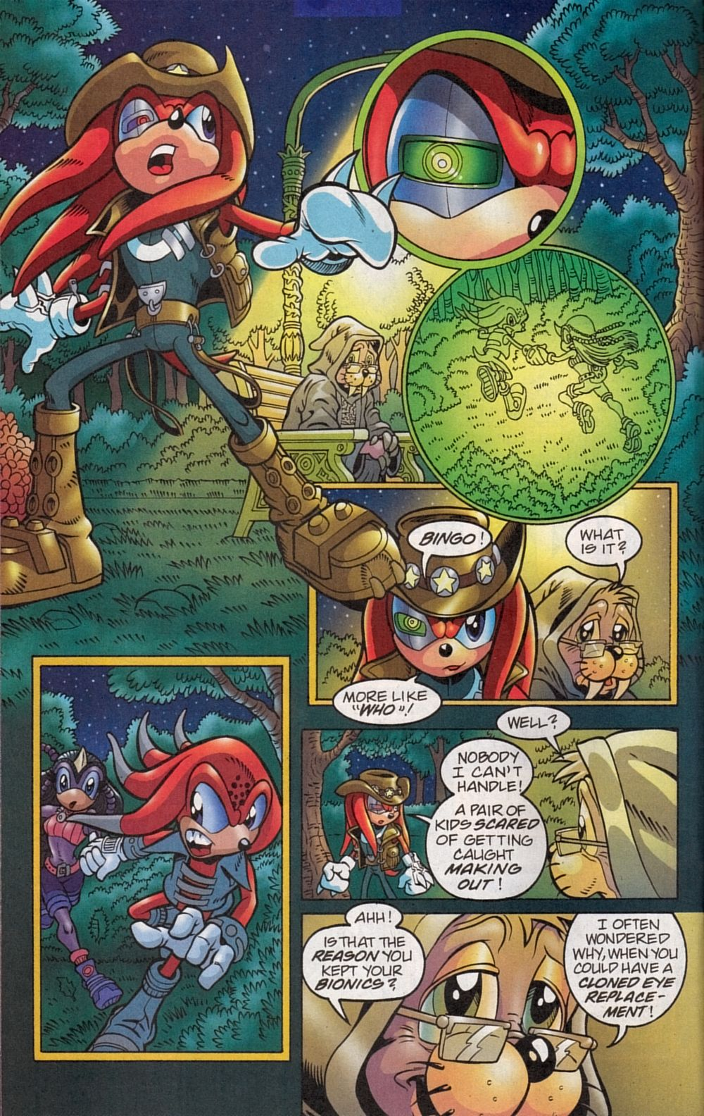 Read online Sonic The Hedgehog comic -  Issue #134 - 26