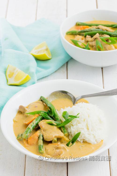 泰式咖喱豬柳 Thai  Pork Curry01