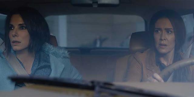 Sandra Bullock y Sarah Paulson en 'A Ciegas'