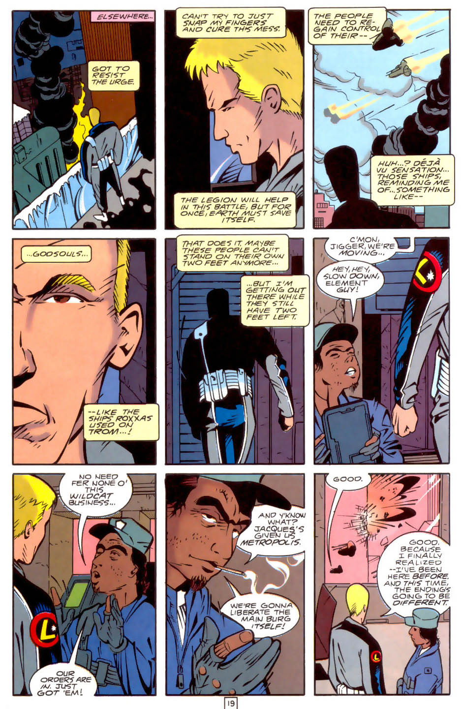 Legion of Super-Heroes (1989) 34 Page 19