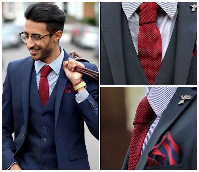 cravatta maglia inverno