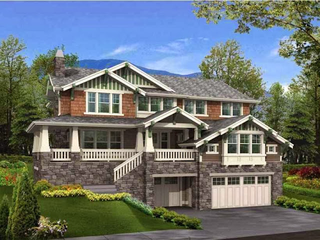 Hillside House Plans - AyanaHouse