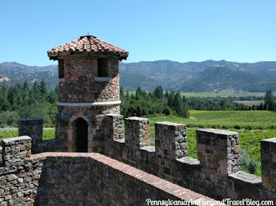 Castello di Amorosa Winery in Calistoga Napa Valley California