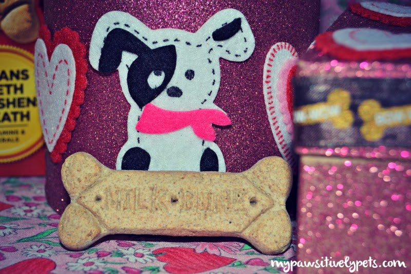 Create a Valentine's Day Gift Box for Your Dog #SayitwithMilkBone