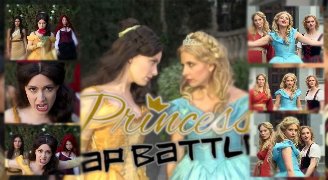 Watch Viral Video of Disney Princesses Battle Rap Cinderella vs Belle