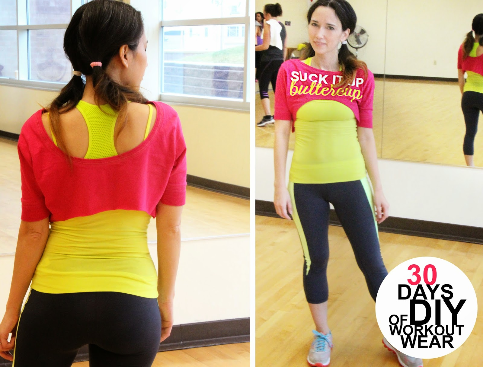 Grosgrain  30 Days of DIY Workout Wear  Day 6 3f7faa291