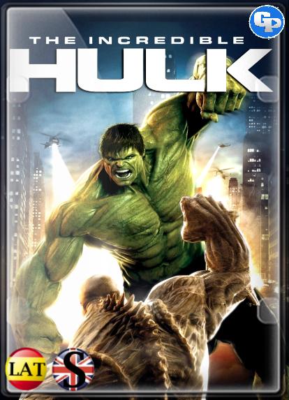 El Increíble Hulk (2008) FULL HD 1080P LATINO/INGLES