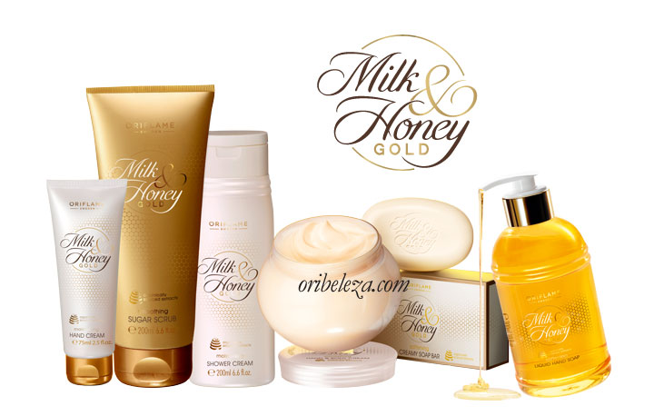 Milk & Honey Gold da Oriflame - Cuidados do Corpo