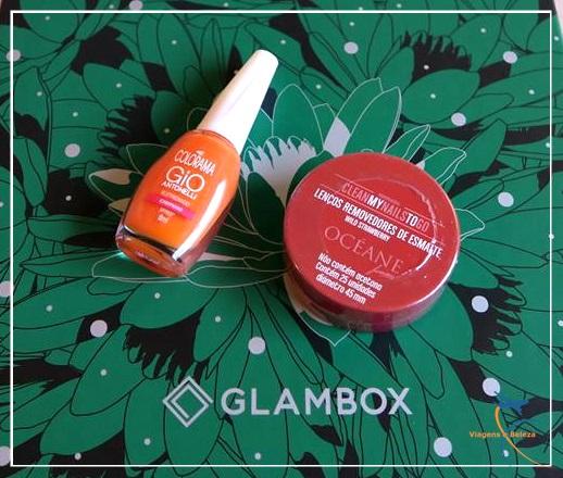 Glambox Essência e resgates Glampoints  | Julho 2017
