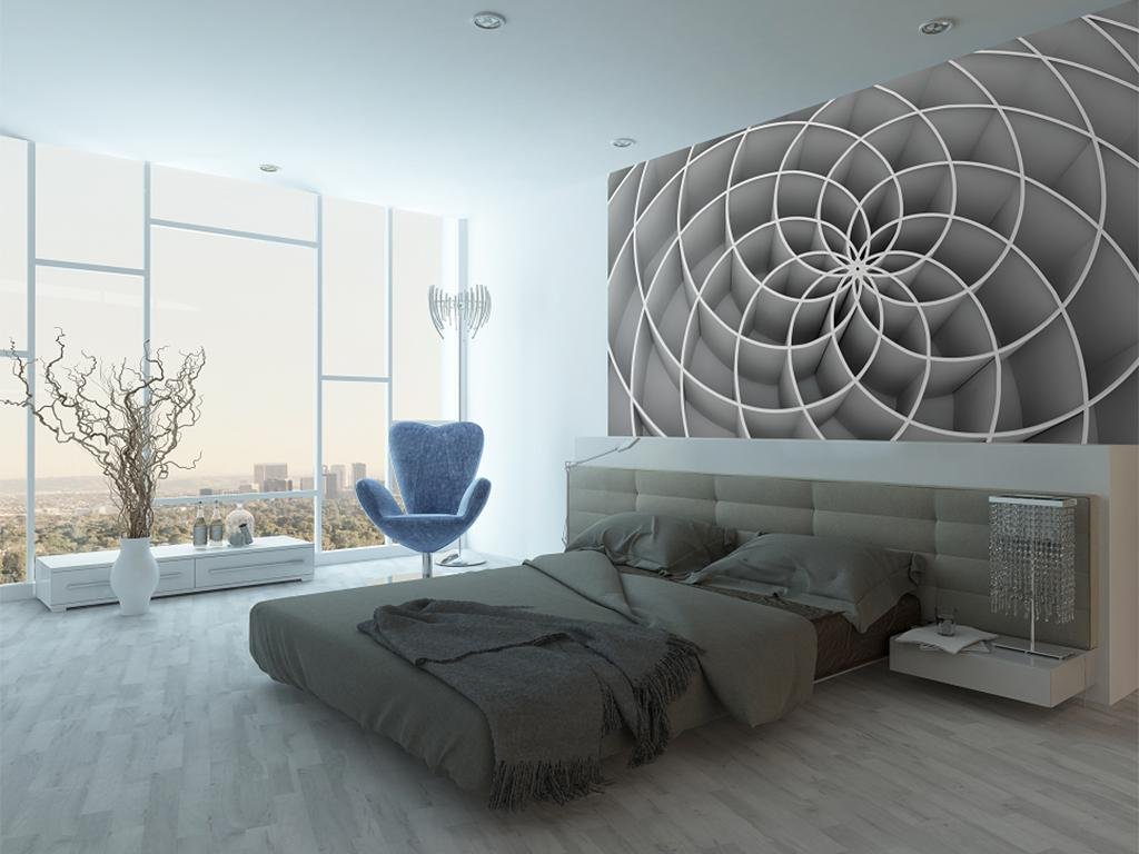 15 Best 3D effect wallpaper designs visually enlarge room ...
