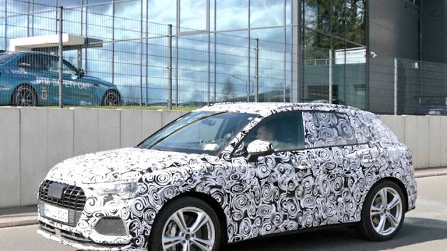 Next-Generation Audi Q3 Brings Its Performance To The Nurburgring