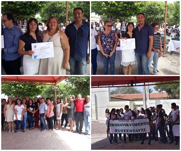 Centro de Ensino Dr. Paulo Ramos  festeja conquistas