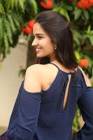 Poojita Super Cute Smile in Blue Top black Trousers at Darsakudu press meet ~ Celebrities Galleries 097.JPG