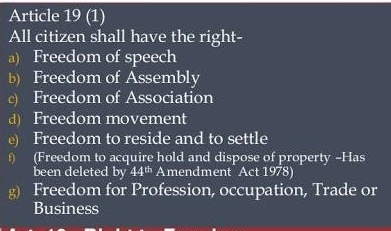 Article of Indian Constitution
