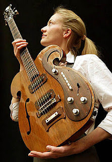 strange guitar