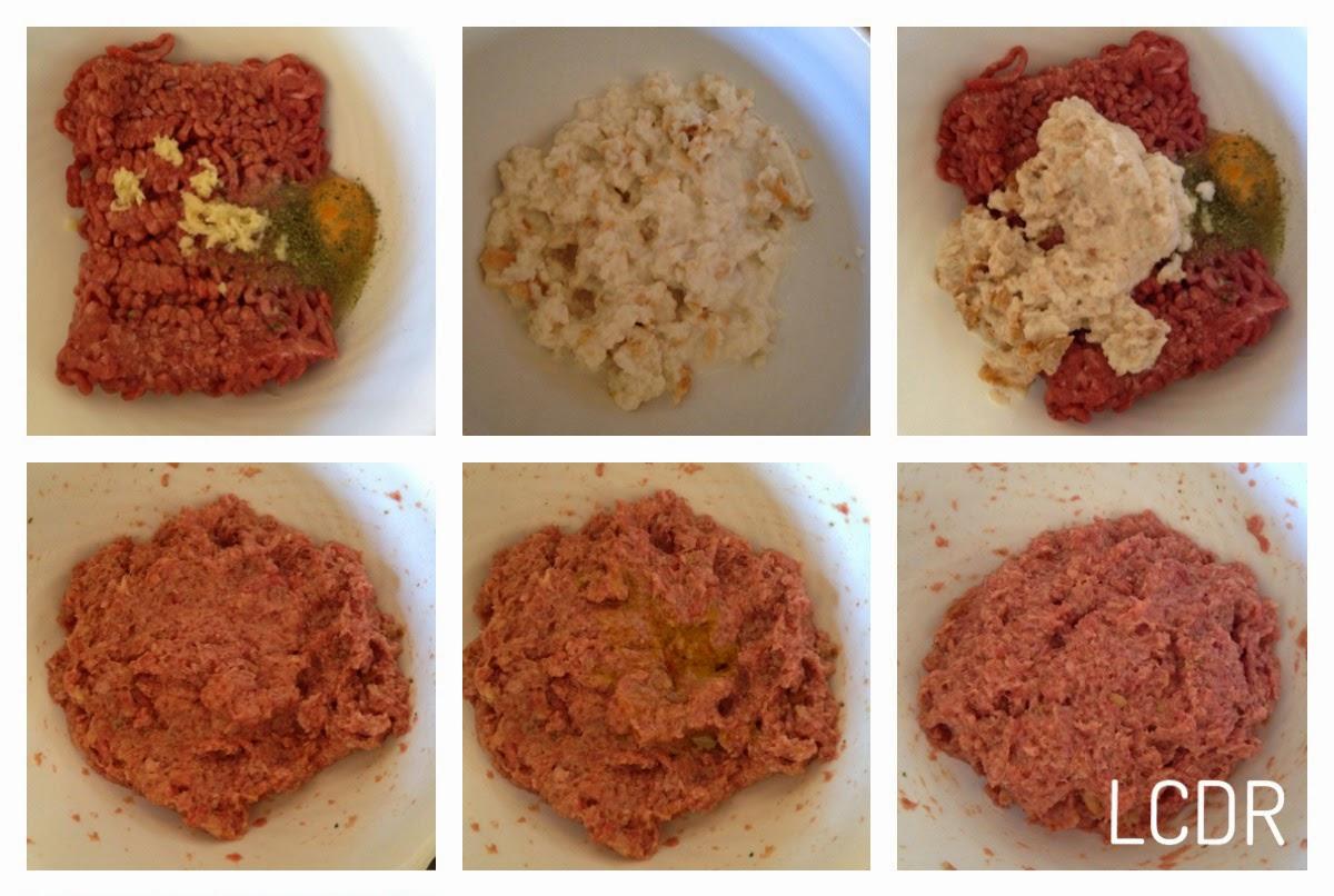 Receta de albóndigas de carne en salsa: masa