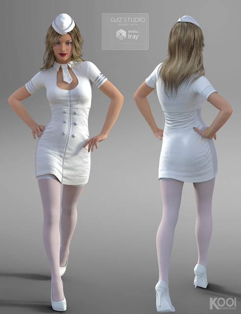 Flight Attendant for Genesis 3 Female