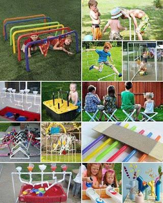 Ideas con tubos de PVC - juegos para niños