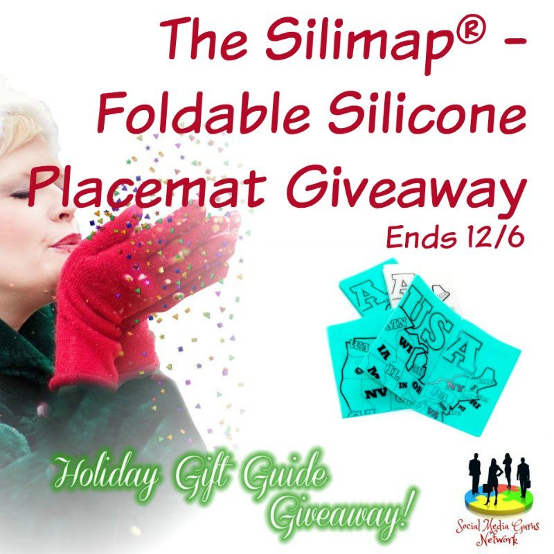 Silimap Foldable Silicone Placemat