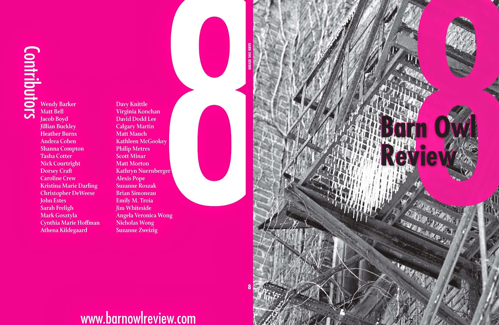 Cover of Barn Owl Review Number 8