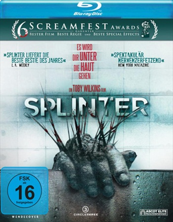 Splinter 2008 English 480p BRRip 280MB ESubs