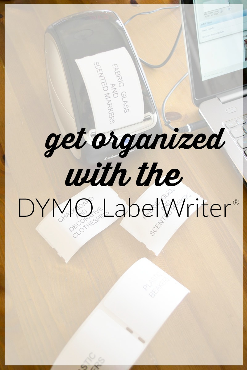 Get ready for tax season with the DYMO LabelWriter