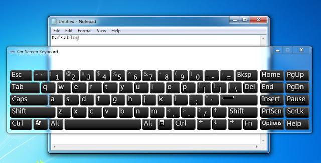 Cara Menampilkan Keyboard di Layar Laptop atau Monitor