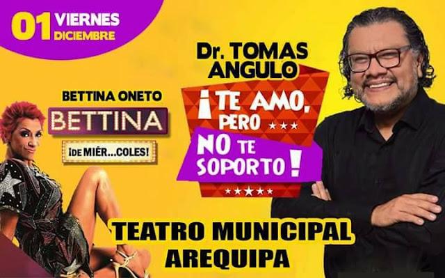 Dr. Tomas Angulo y Bettina Oneto en Arequipa