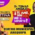 Dr. Tomas Angulo y Bettina Oneto en Arequipa, 01 de diciembre