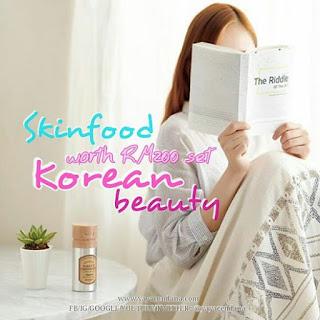 Skinfood Worth RM 200 Giveaway by Yaya Cendana