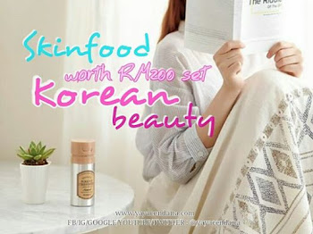 SKINFOOD : worth RM200 set (Korean Beauty)