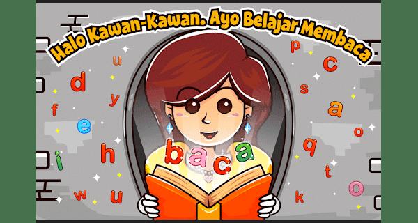 marbel belajar membaca