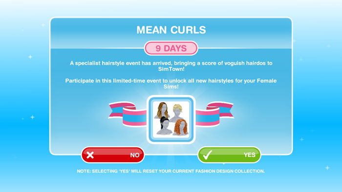 How To Complete Mean Curls Event The Sims Freeplay Freeplay Guide