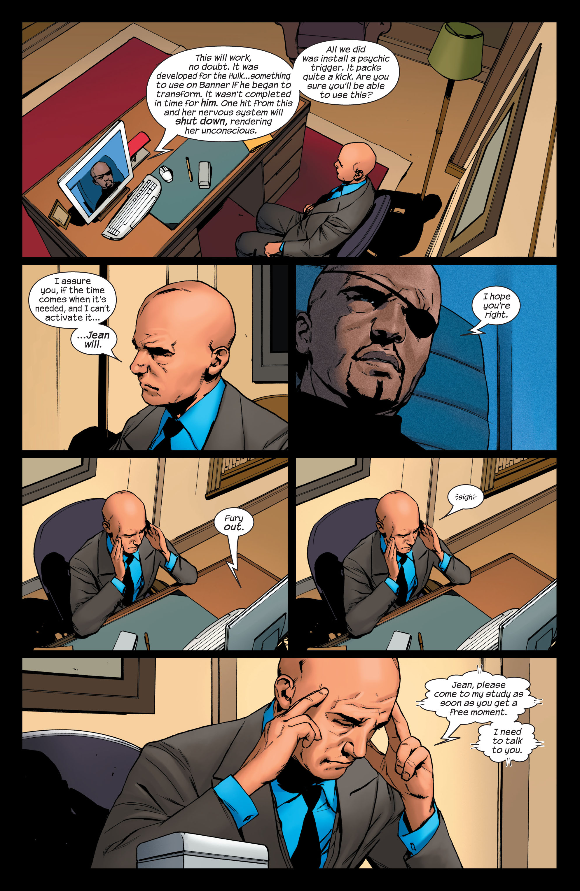 Read online Ultimate X-Men comic -  Issue #75 - 6