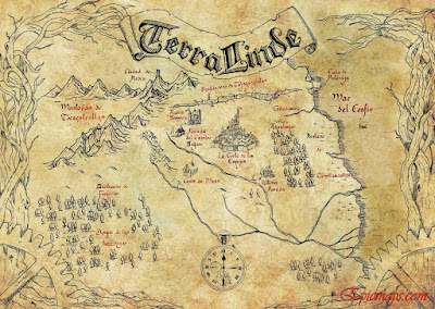 mapa Terralinde