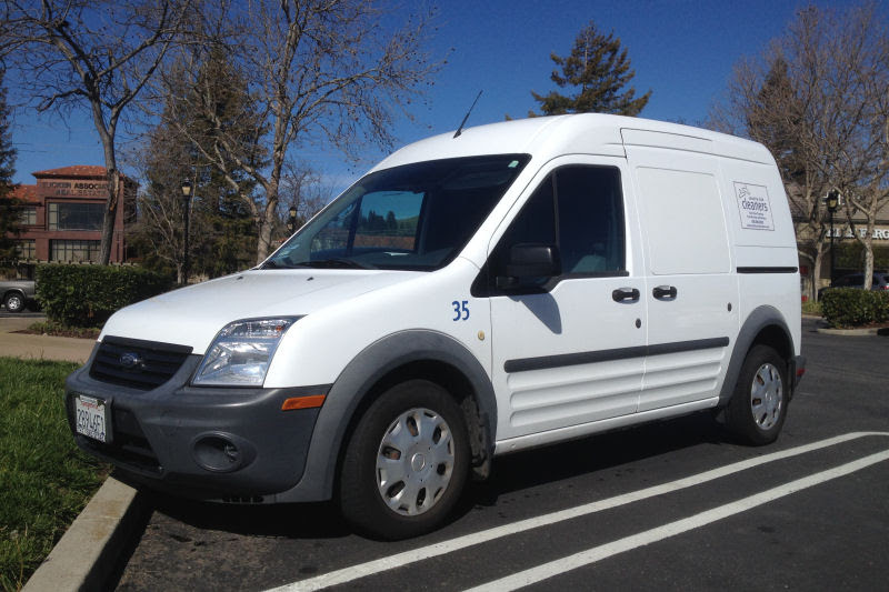 california streets van man review 2012 ford transit connect xl. Black Bedroom Furniture Sets. Home Design Ideas