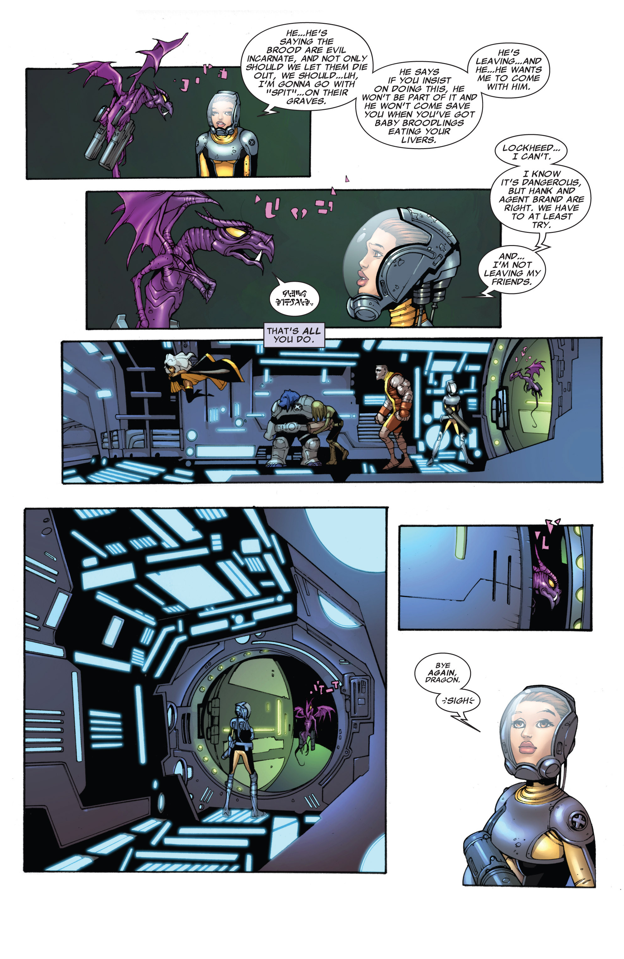 Read online Astonishing X-Men (2004) comic -  Issue #40 - 7