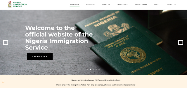 Nigeria Immigration Service Recruitment Form and Guide 2018