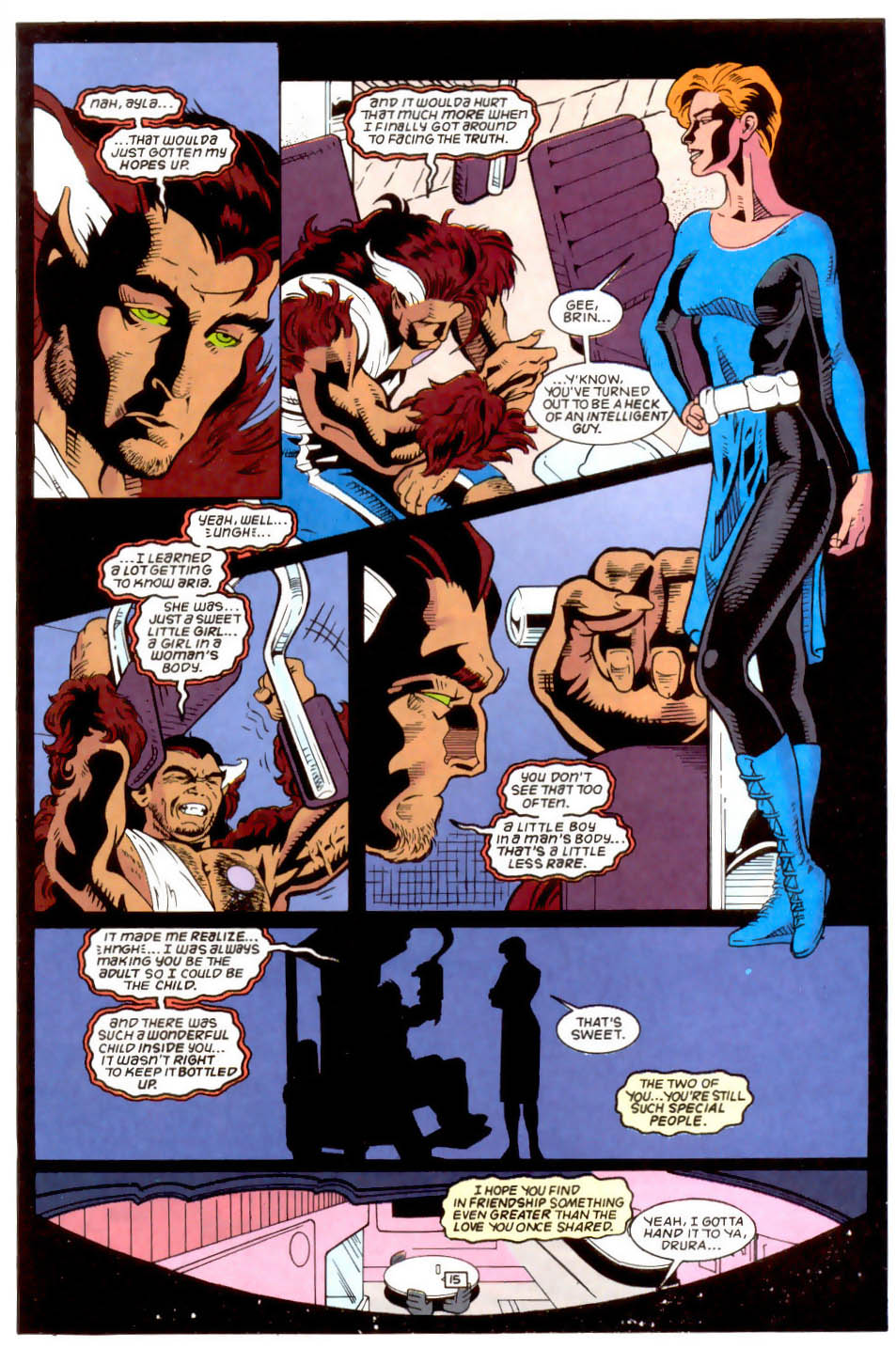 Legion of Super-Heroes (1989) 50 Page 15