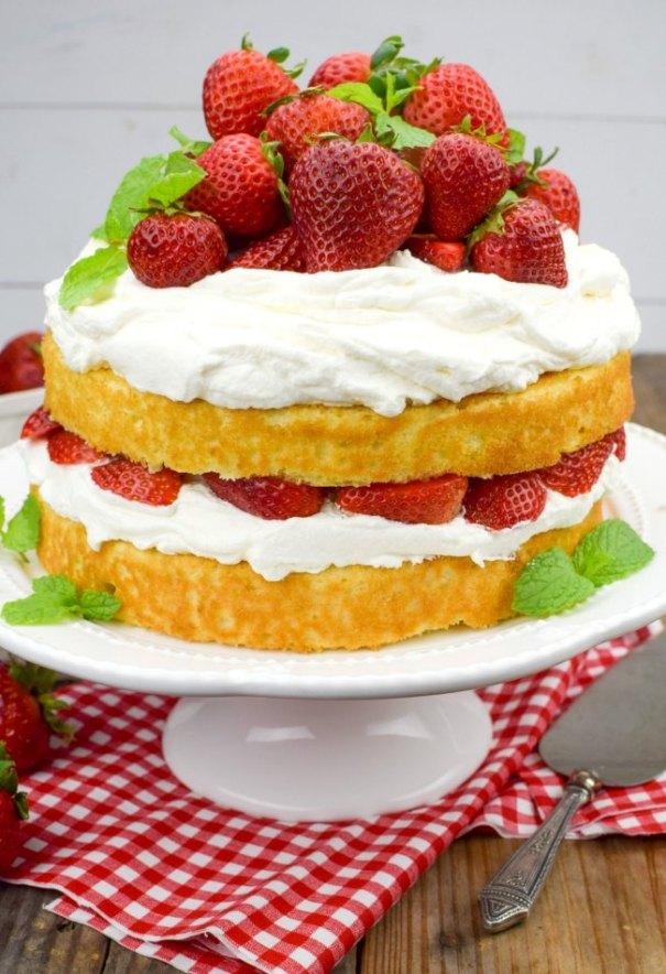 Angel Food Cake Recipes Homemade Easy