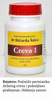 Creva 1, preparat za čišćenje creva