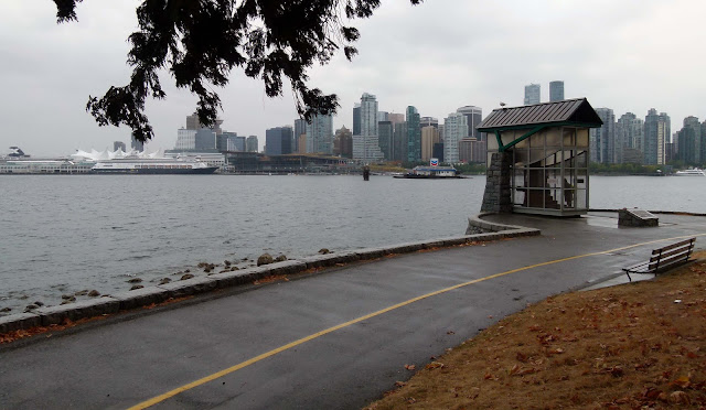 Vancouver's Skyline, seen from Stanley Park