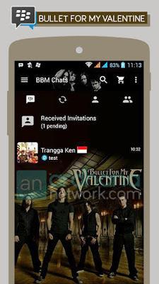 BBM Bullet For My Valentine V2.11.0.18 Apk