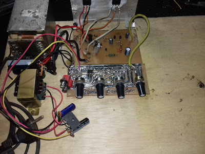 amplificador caseiro 150w rms